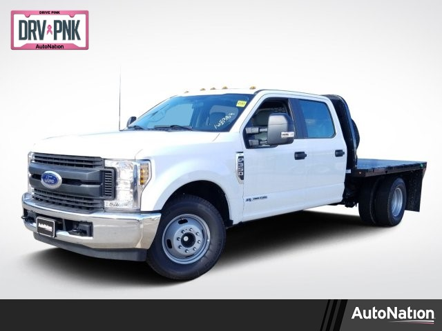 2019 F-350 Crew Cab DRW 4x2,  Knapheide Platform Body #KED72489 - photo 1