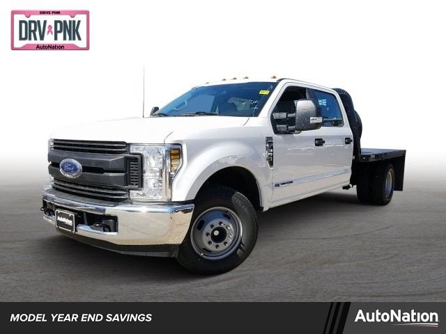 2019 F-350 Crew Cab DRW 4x2,  Knapheide Platform Body #KED72490 - photo 1