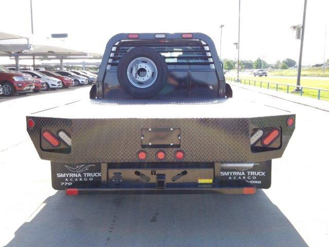 2019 F-350 Crew Cab DRW 4x2,  Smyrna Truck Platform Body #KEE28783 - photo 4