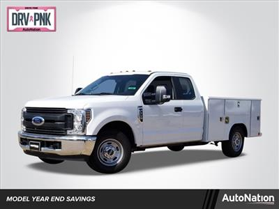 2019 F-250 Super Cab 4x2, Reading Classic II Steel Service Body #KEF61702 - photo 1