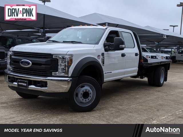 2019 F-450 Crew Cab DRW 4x2, Platform Body #KEF68716 - photo 1