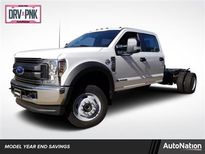2019 F-450 Crew Cab DRW 4x4,  Cab Chassis #KEG02172 - photo 1