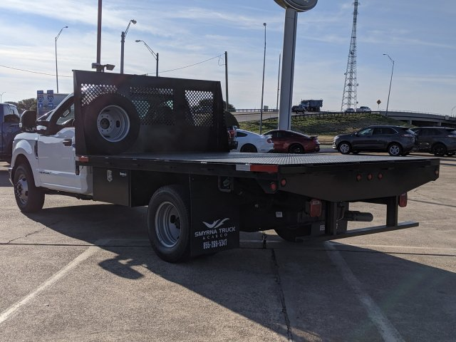 2019 Ford F-350 Regular Cab DRW 4x2, Smyrna Truck Platform Body #KEG79972 - photo 1