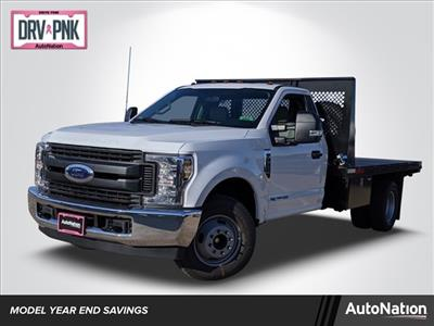 2019 F-350 Regular Cab DRW 4x2, Smyrna Truck Platform Body #KEG79972 - photo 1
