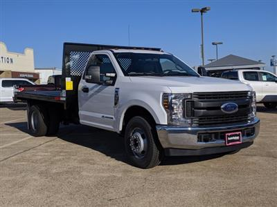 2019 F-350 Regular Cab DRW 4x2, Smyrna Truck Platform Body #KEG79972 - photo 8