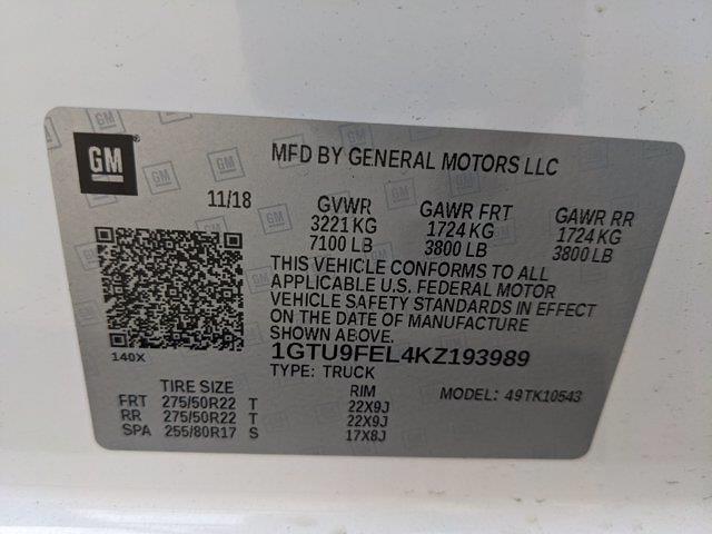 2019 GMC Sierra 1500 Crew Cab 4x4, Pickup #KZ193989 - photo 20