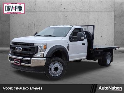 2020 Ford F-450 Regular Cab DRW 4x2, General Truck Body Platform Body #LEC56513 - photo 1