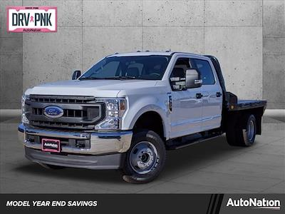 2020 Ford F-350 Crew Cab DRW 4x4, Norstar SR Platform Body #LEE53560 - photo 1