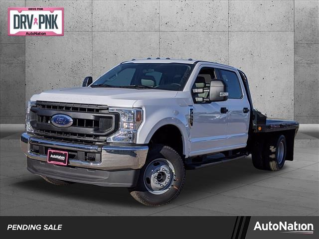 2020 Ford F-350 Crew Cab DRW 4x4, Norstar SR Platform Body #LEE53561 - photo 1