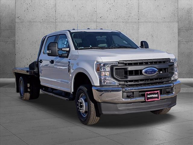 2020 Ford F-350 Crew Cab DRW 4x4, Norstar SR Platform Body #LEE53561 - photo 8