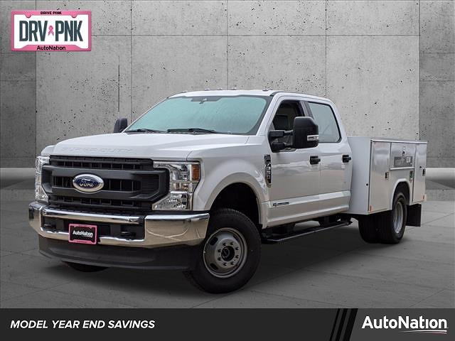 2020 Ford F-350 Crew Cab DRW 4x4, Reading Service Body #LEE53565 - photo 1