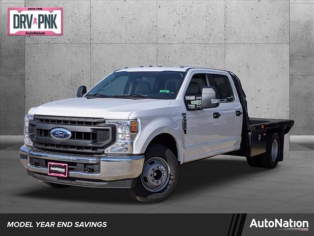 2020 Ford F-350 Crew Cab DRW 4x2, Platform Body #LEE90203 - photo 1