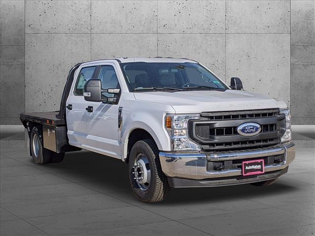 2020 Ford F-350 Crew Cab DRW 4x2, Platform Body #LEE90203 - photo 14