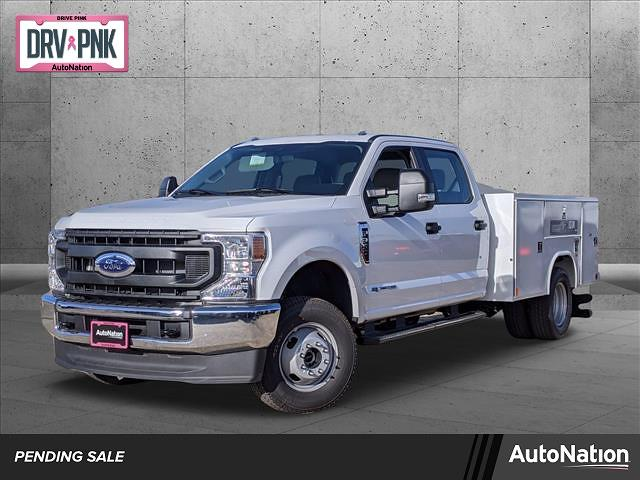 2020 Ford F-350 Crew Cab DRW 4x4, Reading SL Service Body #LEE90496 - photo 1