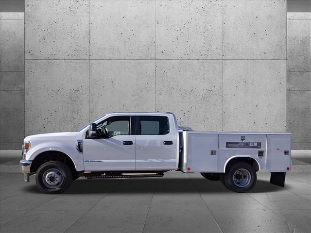 2020 Ford F-350 Crew Cab DRW 4x4, Reading SL Service Body #LEE90496 - photo 6