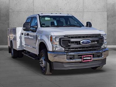 2020 Ford F-350 Crew Cab DRW 4x4, Reading SL Service Body #LEE90496 - photo 8