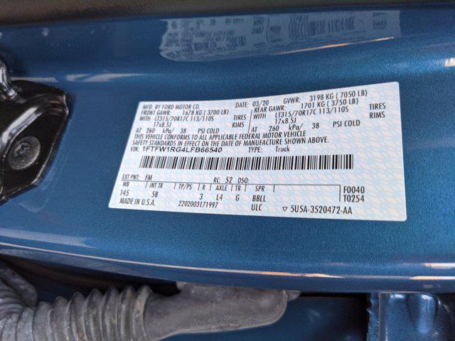 2020 F-150 SuperCrew Cab 4x4,  Pickup #LFB66540 - photo 20