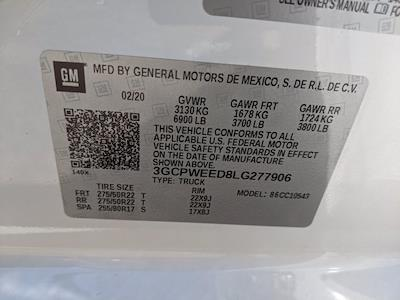 2020 Chevrolet Silverado 1500 Crew Cab 4x2, Pickup #LG277906 - photo 23