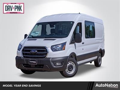 2020 Ford Transit 250 Med Roof 4x2, Crew Van #LKA06642 - photo 1