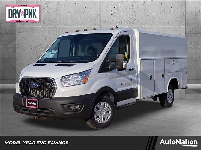 2020 Ford Transit 350 4x2, Reading Aluminum CSV Service Utility Van #LKB12894 - photo 1
