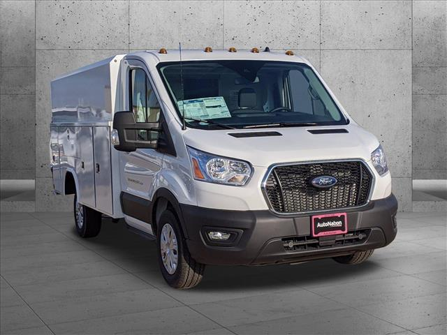 2020 Ford Transit 350 4x2, Reading Aluminum CSV Service Utility Van #LKB12894 - photo 8