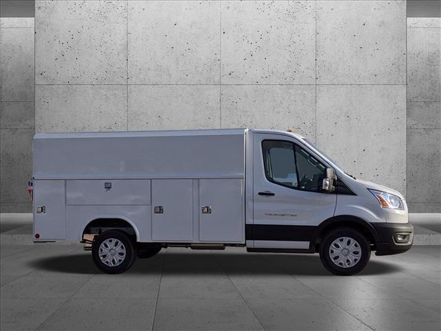 2020 Ford Transit 350 4x2, Reading Aluminum CSV Service Utility Van #LKB12894 - photo 9
