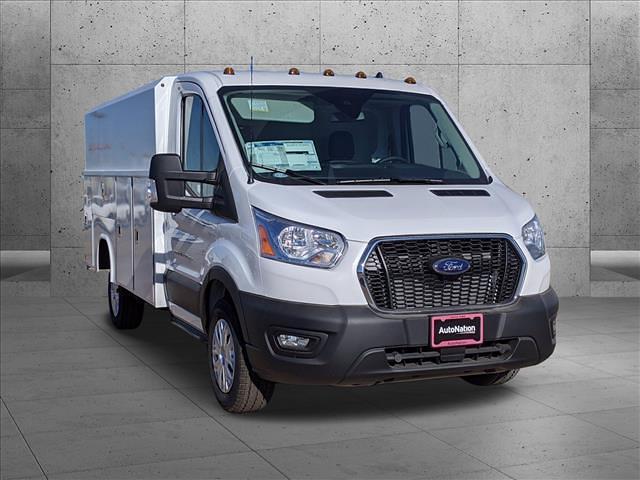 2020 Ford Transit 350 4x2, Reading Aluminum CSV Service Utility Van #LKB18266 - photo 8