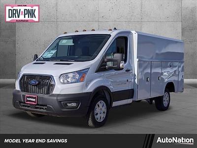 2020 Ford Transit 350 4x2, Reading Aluminum CSV Service Utility Van #LKB18266 - photo 1