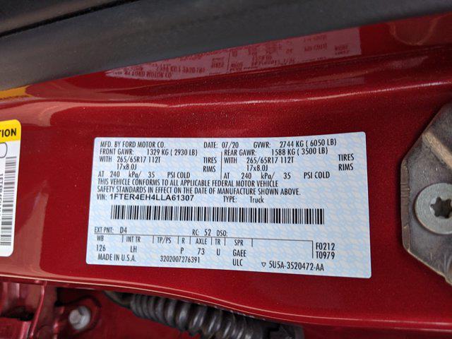 2020 Ford Ranger SuperCrew Cab 4x2, Pickup #LLA61307 - photo 22