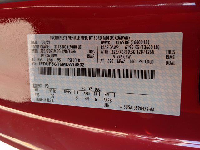 2021 Ford F-550 Regular Cab DRW 4x2, Cab Chassis #MDA14802 - photo 17