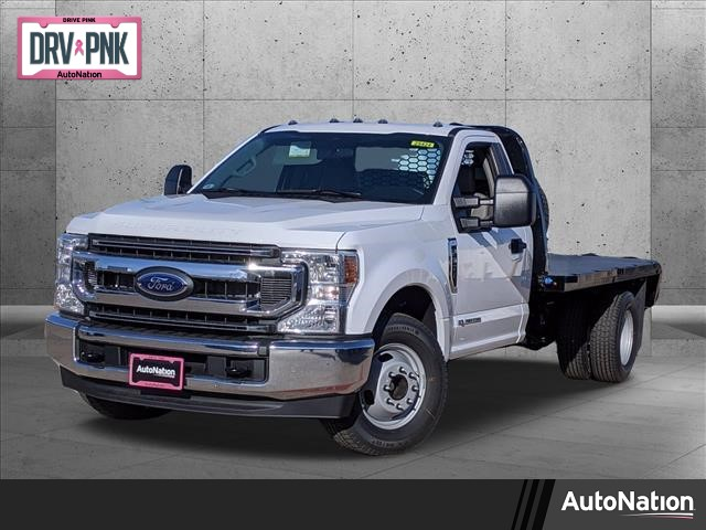 2021 Ford F-350 Regular Cab DRW 4x2, Platform Body #MEC14454 - photo 1