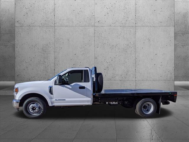 2021 Ford F-350 Regular Cab DRW 4x2, Knapheide Platform Body #MEC14454 - photo 6