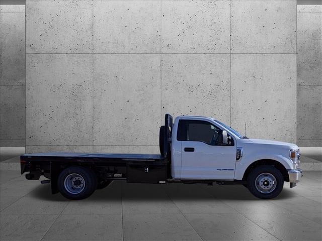 2021 Ford F-350 Regular Cab DRW 4x2, Knapheide Platform Body #MEC14454 - photo 9