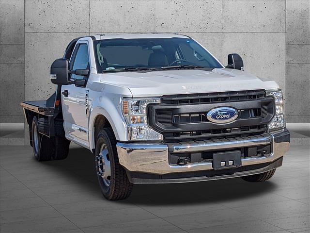 2021 Ford F-350 Regular Cab DRW 4x2, CM Truck Beds RD Model Platform Body #MEC43209 - photo 8