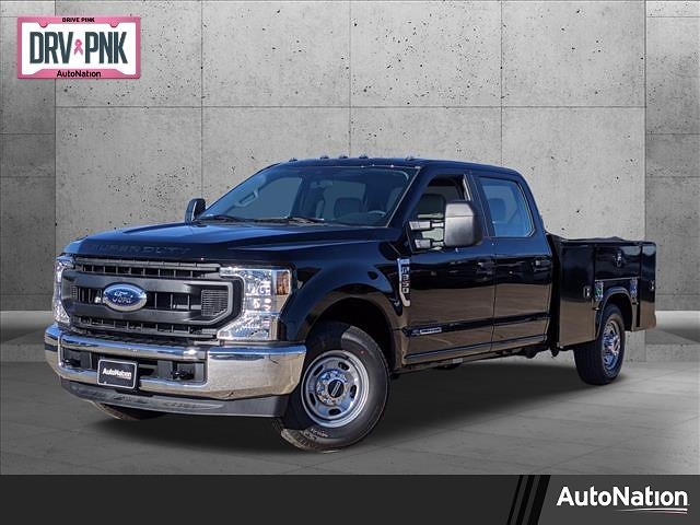 2021 Ford F-350 Crew Cab 4x2, 8' SERVICE BODY #MEC73205 - photo 1