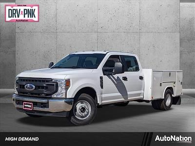 2021 Ford F-350 Crew Cab DRW 4x2, Cab Chassis #MED39239 - photo 1