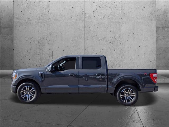 2021 Ford F-150 SuperCrew Cab 4x2, Pickup #MFA41070 - photo 4