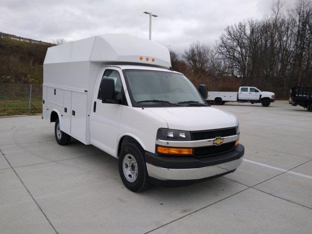 2020 Chevrolet Express 3500 4x2, Knapheide Service Utility Van #C00369 - photo 1