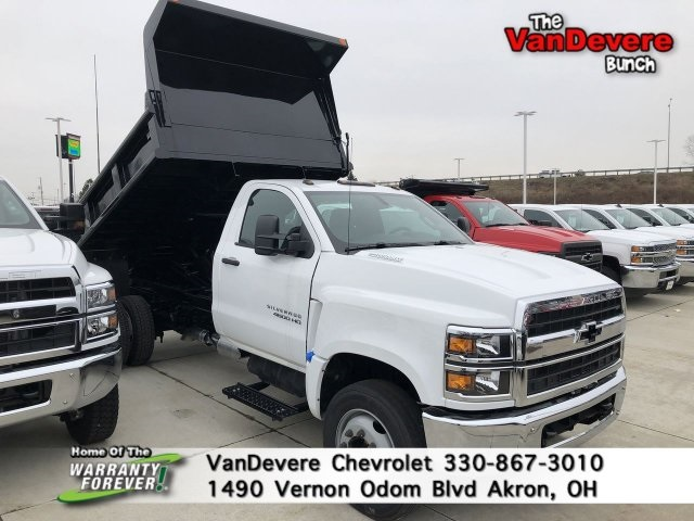 2019 Silverado 4500 Regular Cab DRW 4x2, Galion Dump Body #C90583 - photo 1