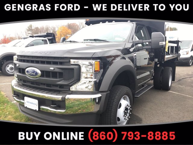 2020 Ford F-550 Regular Cab DRW 4x4, SH Truck Bodies Dump Body #FA02556 - photo 1