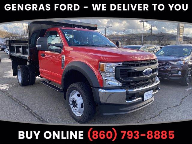 2020 Ford F-550 Regular Cab DRW 4x4, SH Truck Bodies Dump Body #FA09192 - photo 1