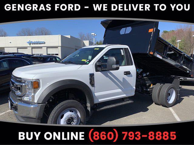 2021 Ford F-550 Regular Cab DRW 4x4, Rugby Dump Body #FC13470 - photo 1