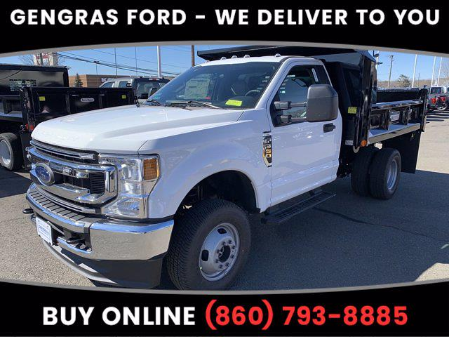 2021 Ford F-350 Regular Cab DRW 4x4, Crysteel Dump Body #FC42660 - photo 1
