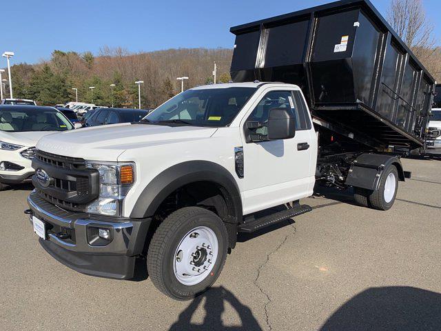 2021 Ford F-550 Regular Cab DRW 4x4, Switch N Go Hooklift Body #FC73774 - photo 1