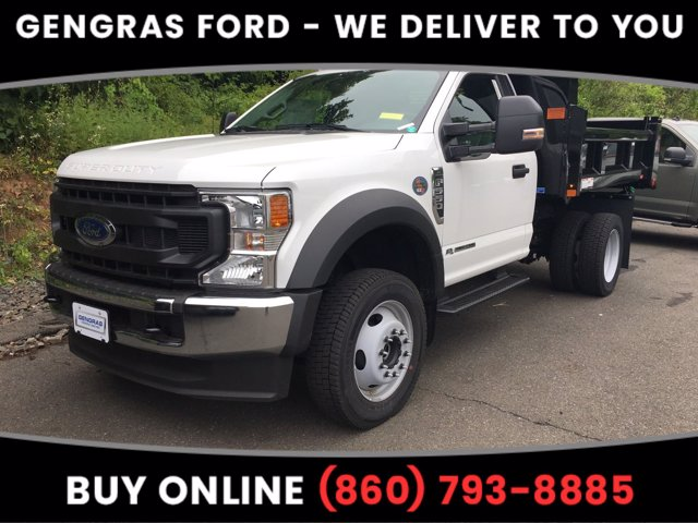 2020 Ford F-550 Regular Cab DRW 4x4, Rugby Dump Body #FD12518 - photo 1