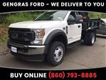2020 Ford F-550 Regular Cab DRW 4x4, Rugby Eliminator LP Steel Dump Body #FD12518 - photo 1