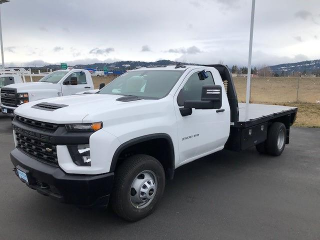 2021 Chevrolet Silverado 3500 Regular Cab 4x4, Knapheide Platform Body #LL4300 - photo 1