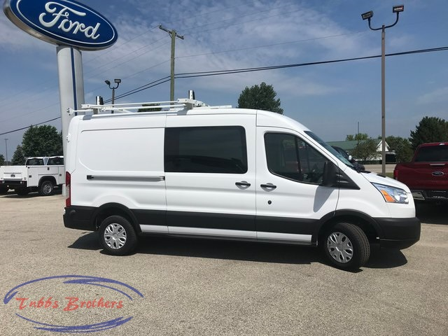 2019 Transit 250 Med Roof 4x2, Kargo Master General Service Upfitted Cargo Van #31012 - photo 6