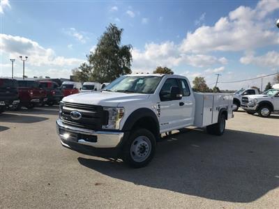 2019 F-550, Monroe Service Body