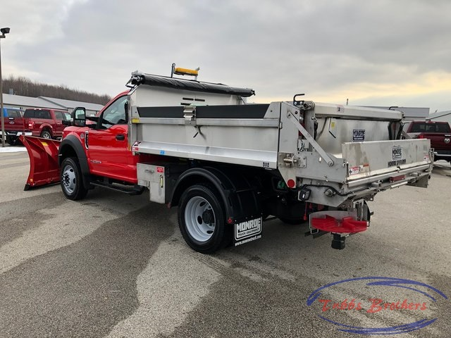 2019 F-550 Regular Cab DRW 4x4, Monroe Dump Body #31816 - photo 1
